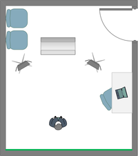 IT Learning Centre Wye room layout
